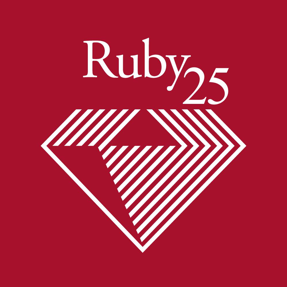 Ruby25thlogo
